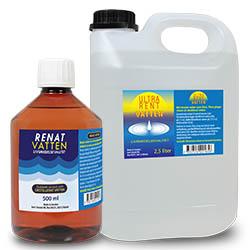 avjoniserat vatten vs destillerat vatten