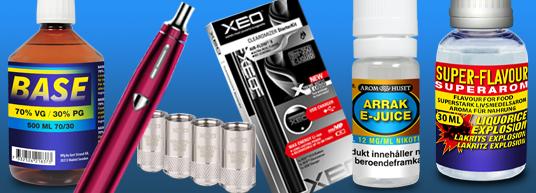 e-Cigaretter och smakämen