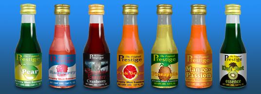 Fruityshot 20 ml till 75 cl