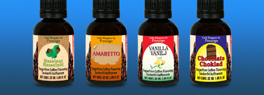 Kaffearom 32 ml till 16-32 koppar kaffe