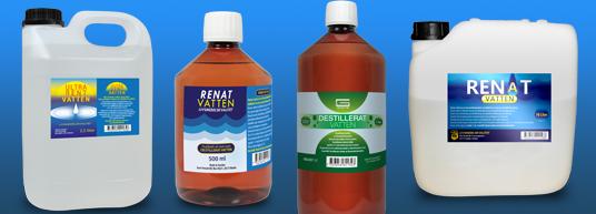Renat Vatten och Ultrarent vatten